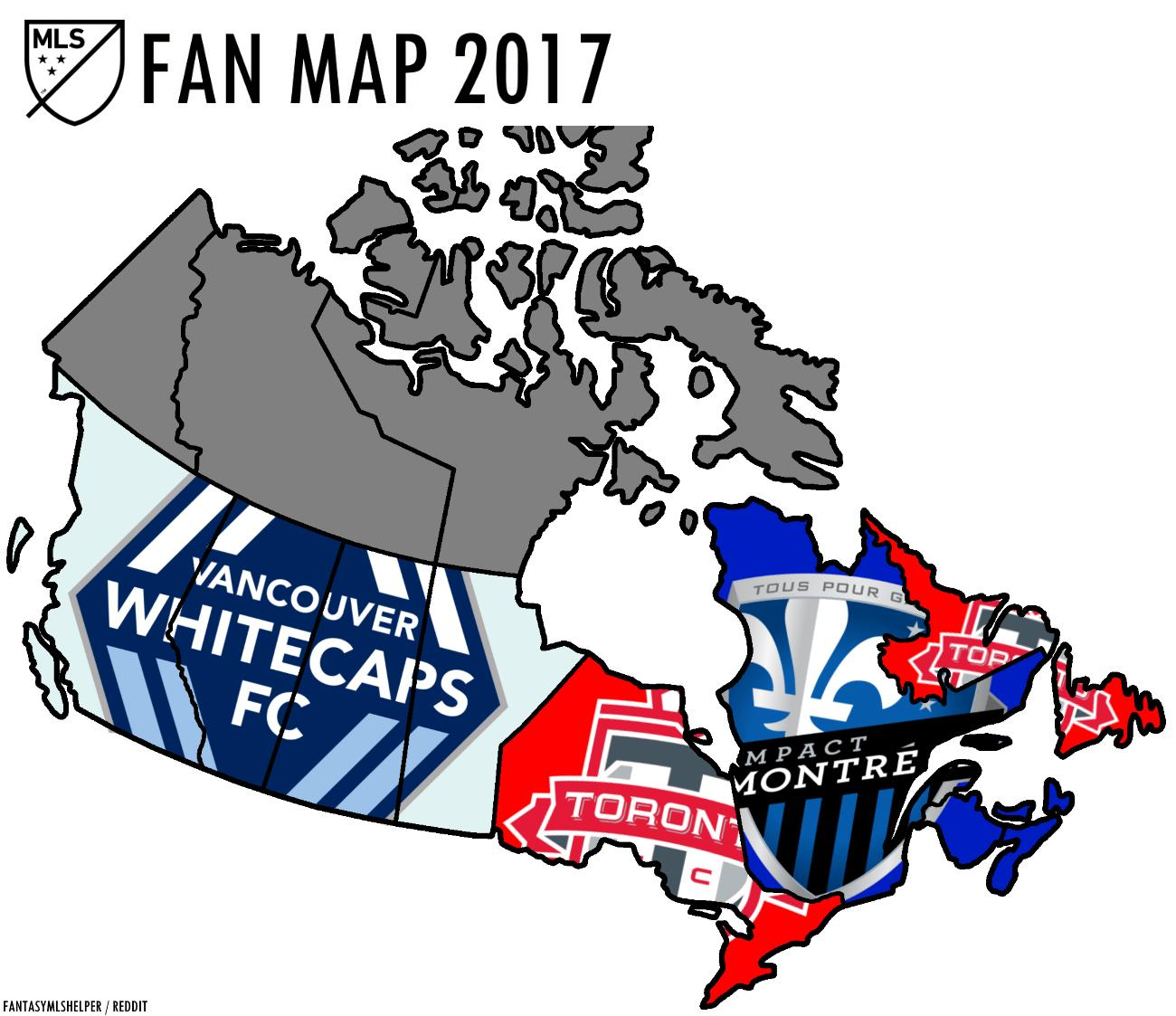 Mls Canada Map Map Of Canada Mls Northern America Americas