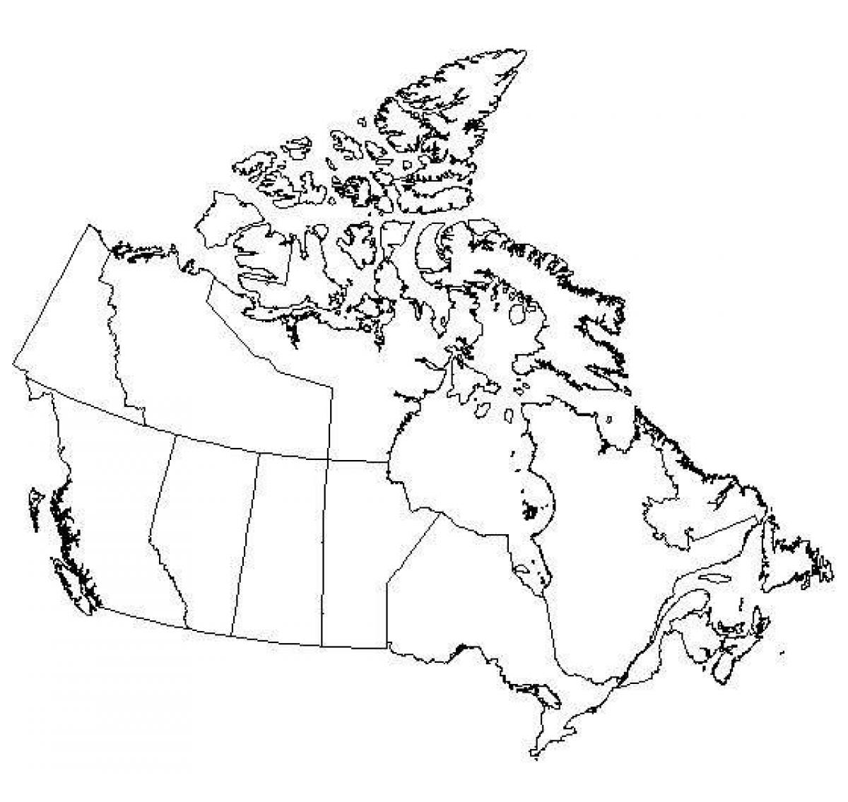 Canada map test - Canada map games (Northern America - Americas) on