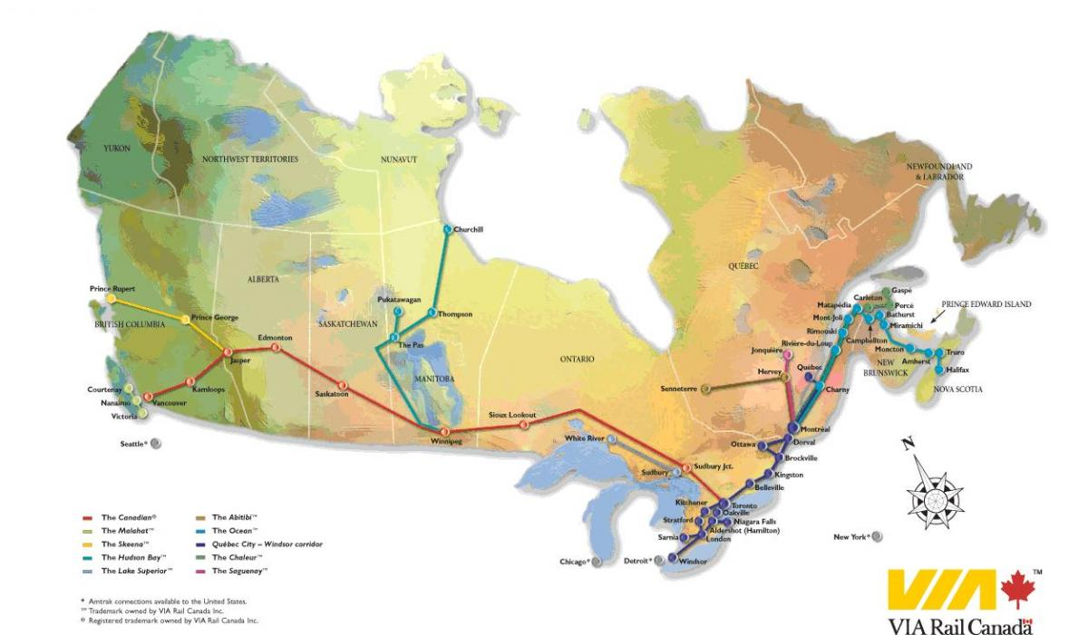 Canada rail map - Canada rail network map (Northern America ... on canada water map, burlington northern railroad, chicago, burlington and quincy railroad, canada ghetto, union station, soo line railroad, canada city map, canada territory map, great northern railway, grand trunk western railroad, canada transportation map, canada zoo, bc rail, canada government map, rail transport, canada rail travel packages, canada america map, britain and america map, norfolk southern railway, illinois central railroad, canada smoke, csx transportation, canada poverty, atchison, topeka and santa fe railway, canada climate map, go transit, canadian pacific railway limited, canada address format, canada country map, grand trunk railway, via rail, kansas city southern railway, canada wildfires, northern pacific railway, canada topographic map, canada rail system map, canada mining map, union pacific railroad,
