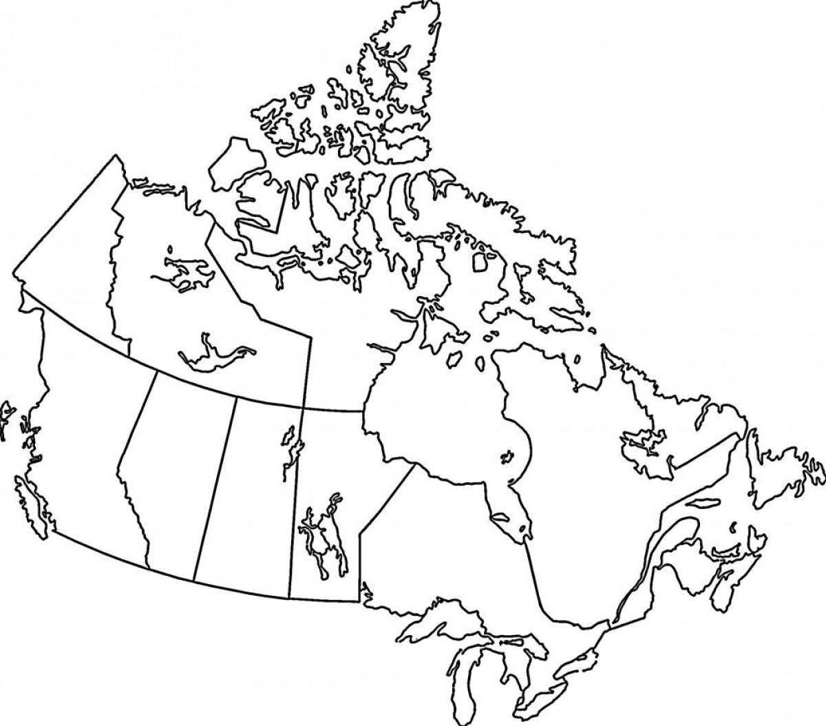 Map Of Canada Colouring Page.Map Of Canada Colouring Page Map Of Canada To Colour Northern