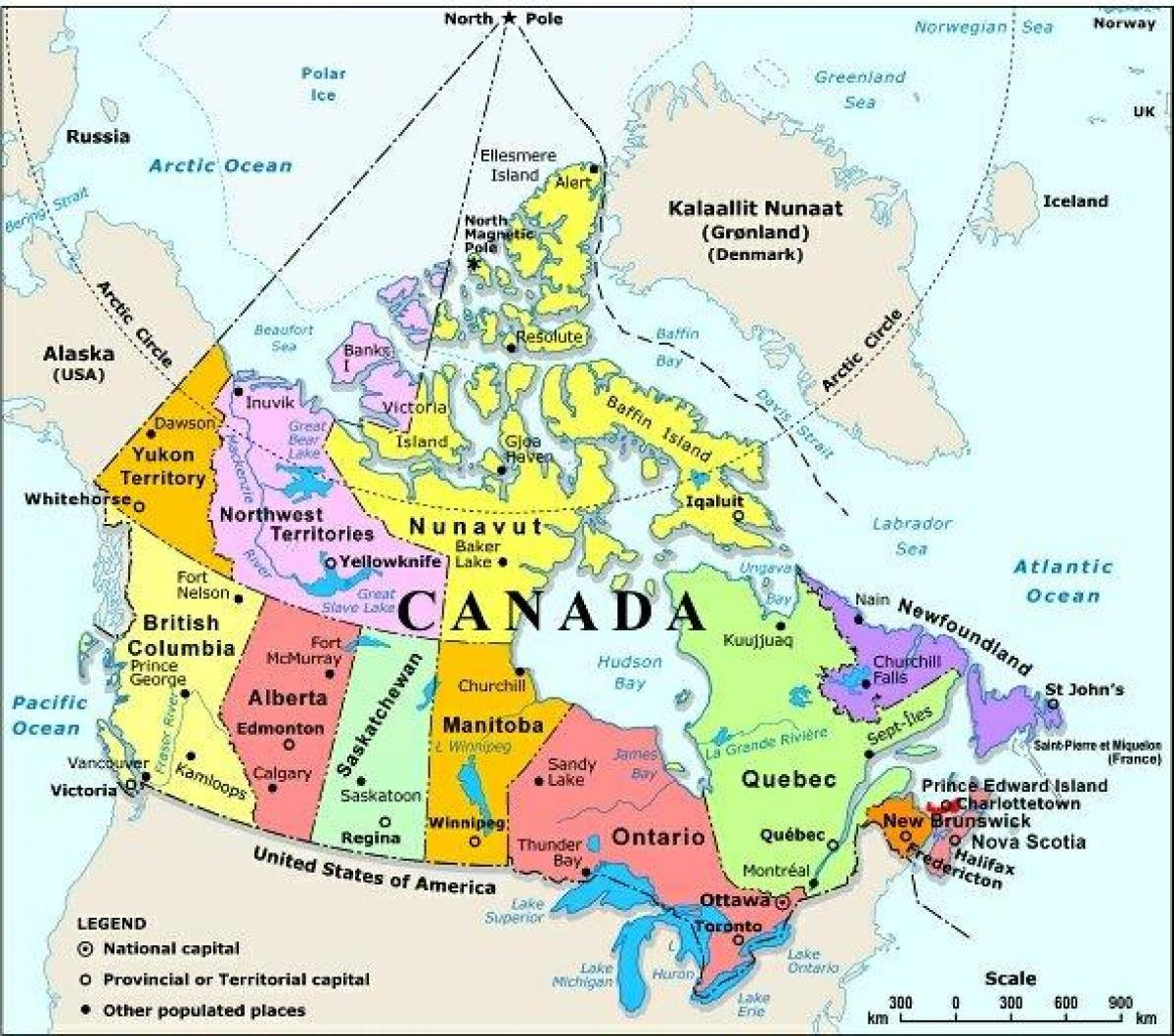 Western Canada Map With Cities Map Of Western Canada With Cities