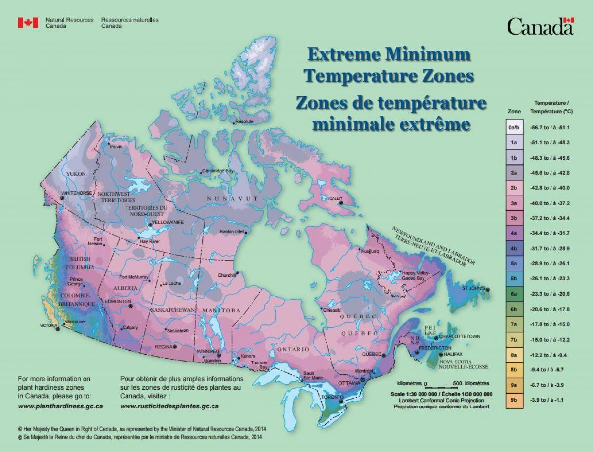 Wind Map For Canada Wind map Canada   Map of Canada wind (Northern America   Americas)