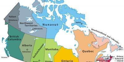 Mls Canada Map Map Of Canada Mls Northern America Americas