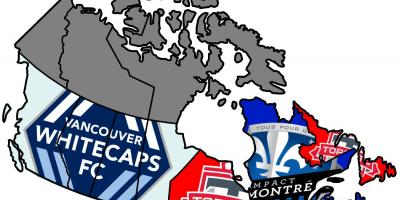 Map of Canada mls