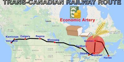 Map Of Canada Kamloops.Canada Map Maps Canada Northern America Americas